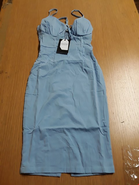 Lot 8040 BRAND NEW NAANAA SKY BLUE CURVED PROFILE SLIM LADIES DRESS - SIZE 6