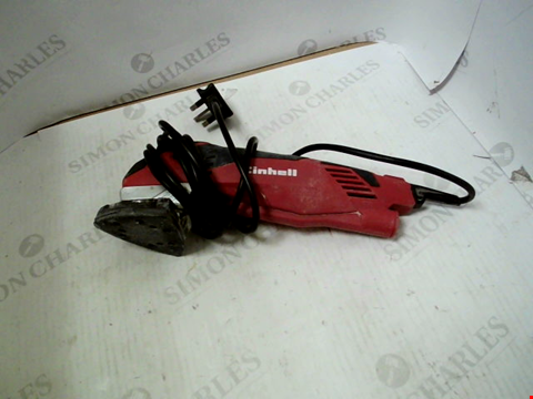 Lot 5243 EINHELL TE-DS 20 E 200 W DETAIL SANDER WITH SOFT START AND VARIABLE SPEED
