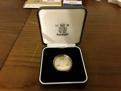Lot 9158 ROYAL MINT UK £2 POUND COIN IN DISPLAY CASE