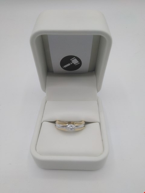 Lot 2 DESIGNER 18CT GOLD RING SET A MARQUISE CUT DIAMOND  RRP £2100.00