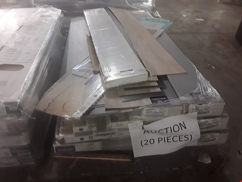 Lot 92 PALLET OF APPROXIMATELY 20 PACKS OF LAMINATE FLOORING