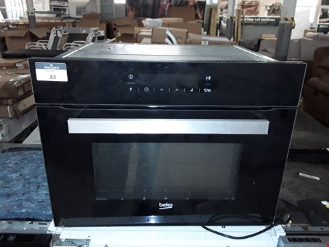 Lot 83 BEKO BLACK INTEGRATED ELECTRIC OVEN RRP £398