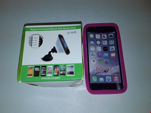 Lot 1111 LARGE QUANTITY OF ASSORTED ITEMS INCLUDES PINK SILICONE PHONE CASES AND UNIVERSAL MAGNET MOUNTS