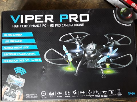 Lot 7411 VIPER PRO DRONE WITH HD CAMERA