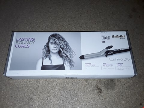 Lot 199 BABYLISS CURL PRO 210 HAIR CURLERS