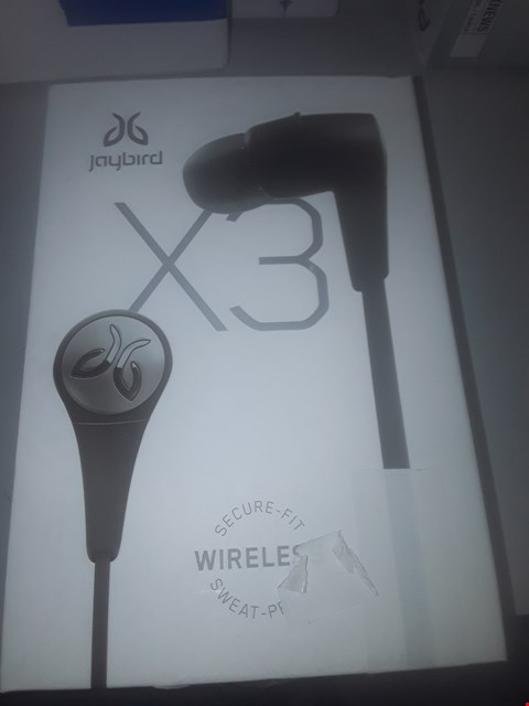 Lot 168 JAYBIRD X3 WIRELESS SPORT HEADPHONES