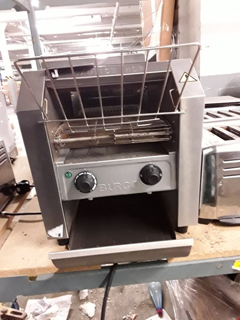 Lot 56 BURCO TSCNV01 CONVEYOR BELT TOASTER.