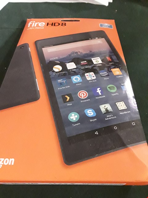 Lot 18028 ALL NEW AMAZON FIRE HD 8 TABLET RRP £100.00