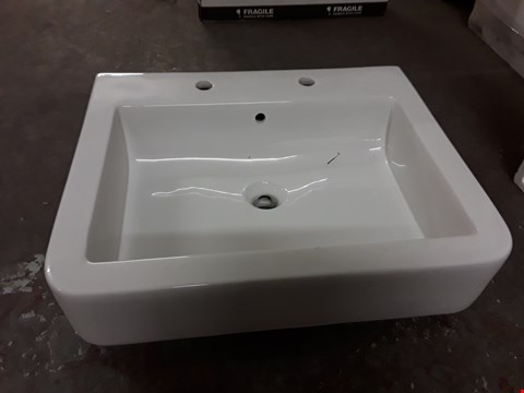 Lot 462 BOXED WATERMARK 600 2-TAP BASIN  RRP £149