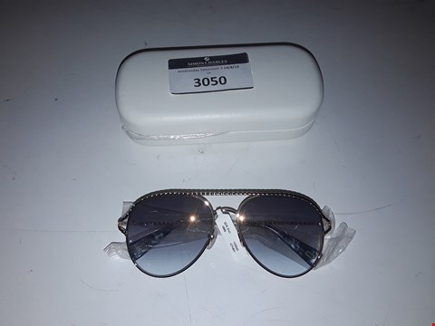 Lot 3050 BRAND NEW MARC JACOBS GOLD TWISTED BROW BAR SUNGLASSES  RRP £220.00