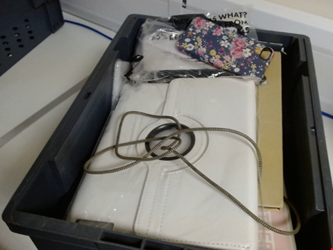 Lot 9024 QUANTITY OF ASSORTED TABLET AND MOBILE PHONE ACCESSORIES TO INCLUDE CASES AND SCREEN PROTECTORS