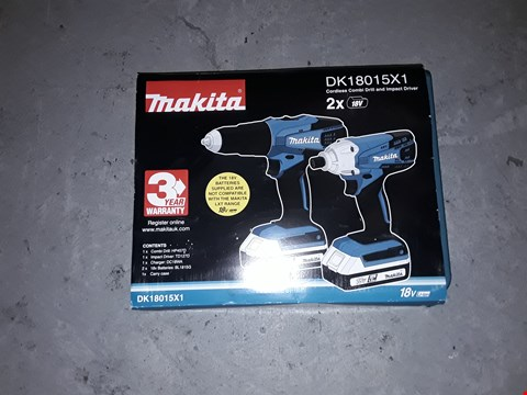 Lot 7715 GRADE 1 MAKITA 18V G SERIES COMBI DRILL RRP £150.00