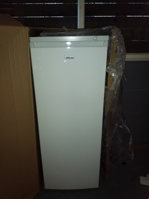 Lot 38 SWAN SR8150W WHITE TALL FREEZER  RRP £359.00