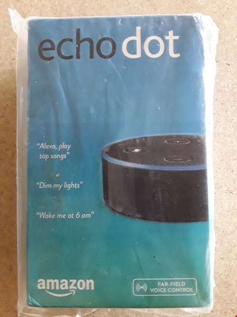 Lot 38 BOXED AMAZON ECHO DOT