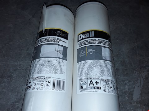 Lot 191 LOT OF 2 DIALL VAPOUR BARRIER MEMBRANES