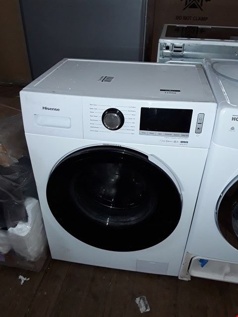 Lot 11005 HISENSE WFBL7014V 7KG 1400 SPIN WASHING MACHINE IN WHITE