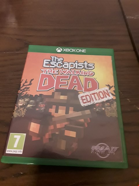 Lot 1017 THE ESCAPISTS : THE WALKING DEAD EDITION XBOX ONE GAME