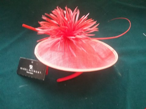 Lot 8598 BRAND NEW NIGEL RAYMENT RED HAT RRP £81.00