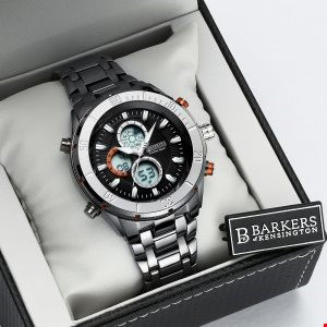 Lot 1015 BRAND NEW BARKERS OF KENSINGTON PREMIER SPORT WRIST WATCH WITH 5 YEARS MANUFACTURERS WARRANTY RRP £455