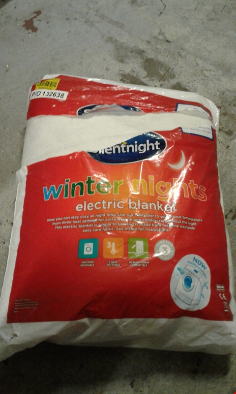 Lot 42 LOT OF APPROXIMATELY 5 SILENTNIGHT WINTER ELECTRIC BLANKET