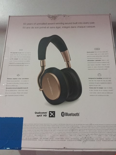 Lot 108 BOWERS & WILKINS PX HEADPHONES