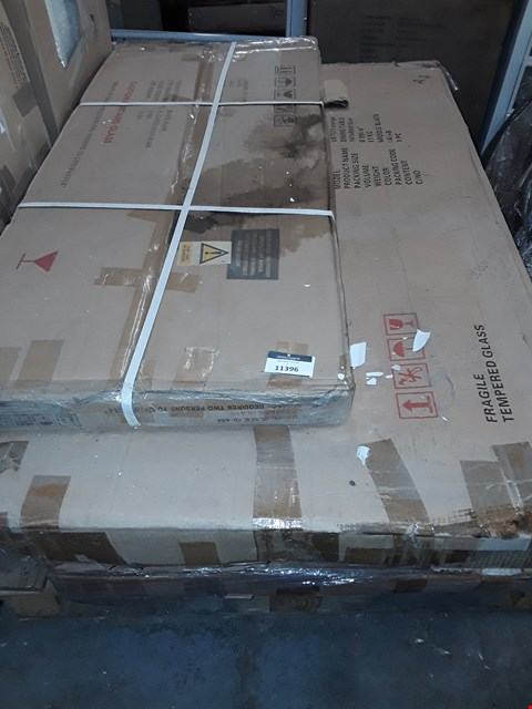 Lot 3135 PALLET OF ASSORTED FLAT PACK FURNITURE/PARTS