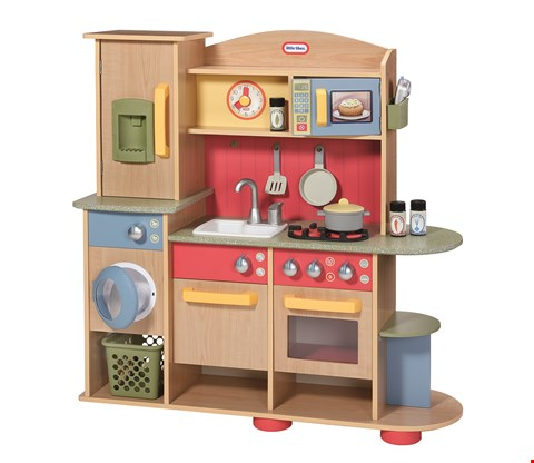 Lot 2086 BOXED GRADE 1 LITTLE TIKES COOKIN CREATIONS WOOD KITCHEN RRP £239