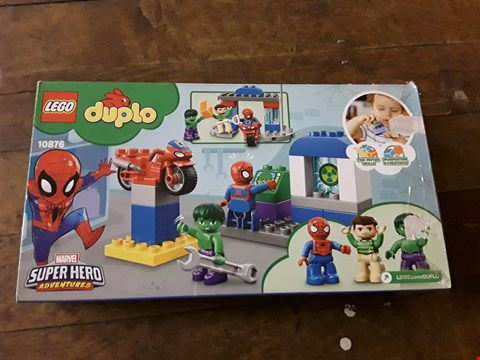 Lot 2364 GRADE 1 LEGO DUPLO SUPER HEROES SPIDERMAN EDITION RRP £25