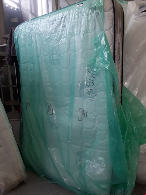 Lot 98 QUALITY BAGGED 135CM DOUBLE 2000 REFLEX PLUS FOAM MATTRESS