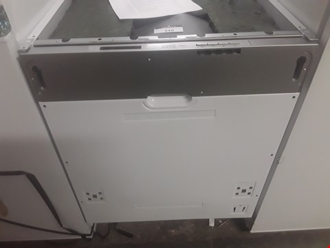 Lot 346 COOKE AND LEWIS INTEGRATED DISHWASHER RRP £260