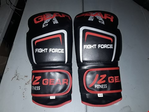 Lot 8455 PAIR OF JZ GEAR FITNESS FIGHT FORCE BOXING GLOVES