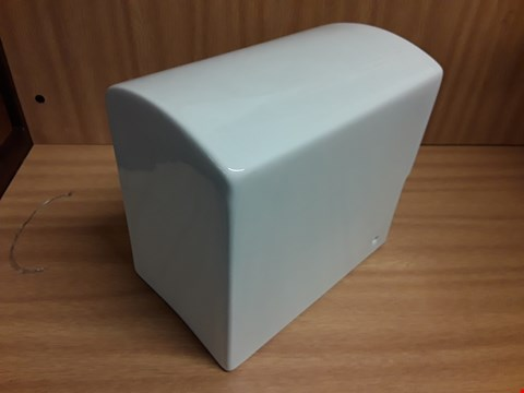 Lot 489 APEX WHITE HALF PEDESTAL FOR 50CM BASIN