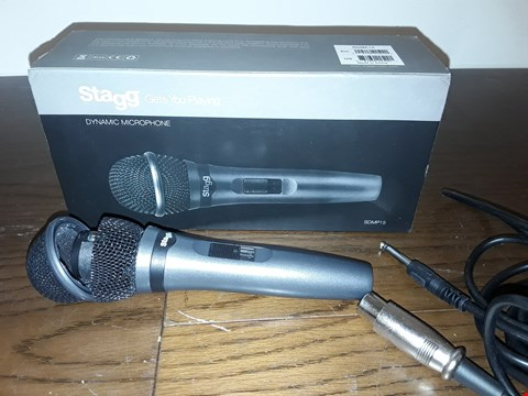 Lot 9048 STAGG DYNAMIC MICROPHONE
