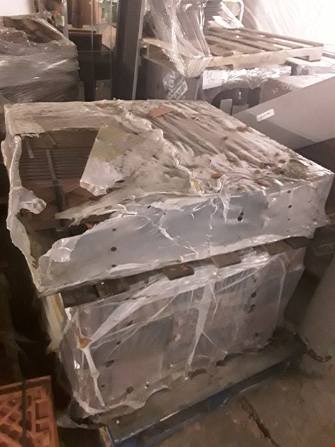 Lot 13023 2 PALLETS OF FLAT ROOF TILES (DOUBLE STACKED)