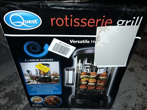 Lot 2088 QUEST ROTISSERIE GRILL