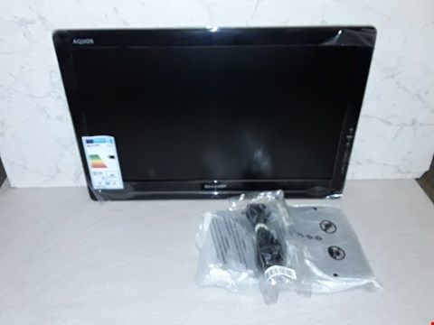 "Lot 4053 SHARP 22"" LCD COLOUR TV"