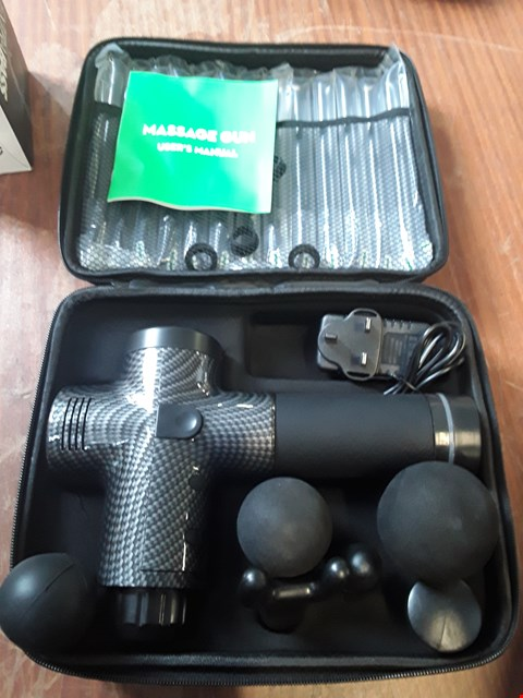 Lot 61 MASSAGE GUN WITH CASE