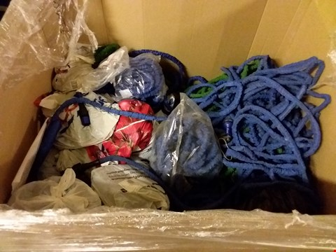 Lot 1213 PALLET OF ASSORTED XHOSE EXPANDING GARDEN HOSES