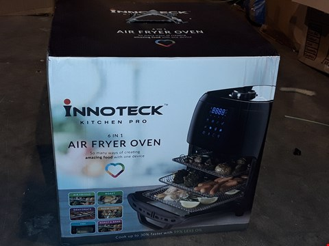 Lot 6357 BOXED INNOTECK 6IN1 AIR FRYER OVEN