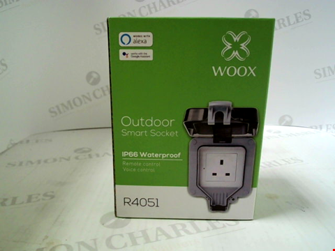 Lot 357 WOOX OUTDOOR SMART SOCKET IP66 WATERPROOF