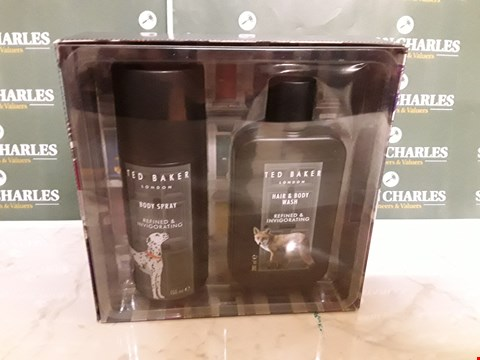 Lot 12004 TED BAKER STYLE REFINED & INVIGORATED 2PC BOXSET