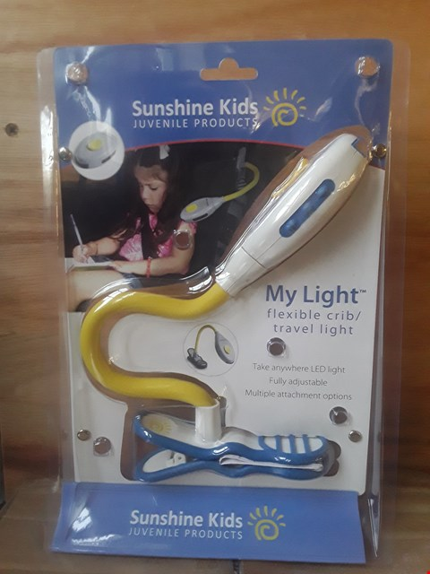 Lot 2007 24 BRAND NEW BOXED SUNSHINE KIDS MY LIGHT FLEXIBLE CRIB/TRAVEL LIGHTS  RRP £263