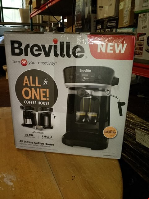 Lot 711 BREVILLE ALL IN ONE COFFEE HOUSE MACHINE