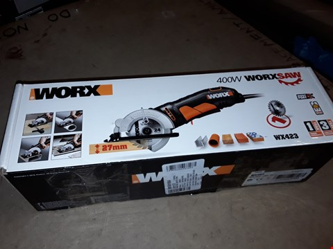 Lot 1079 WORX WX423 85MM 400W COMPACT CIRCULAR SAW