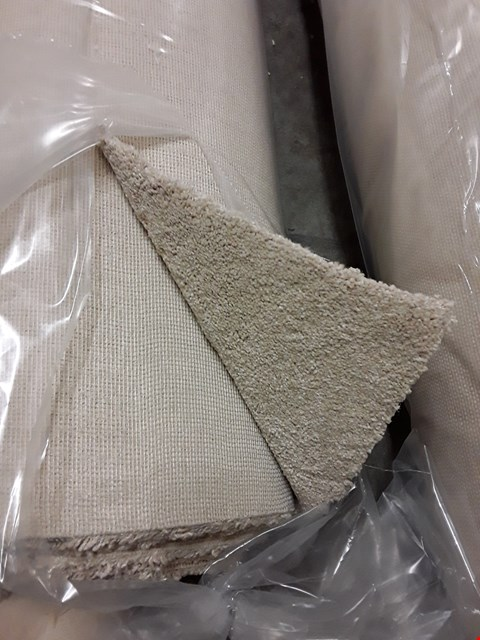 Lot 3010 ROLL OF FIRST IMPRESSIONS CLEAN CUT CREAM CARPET APPROXIMATELY 3.25 X 5M