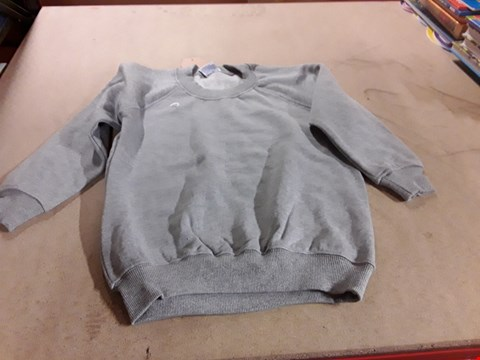 Lot 223 BOX OF APPROXIMATELY 50 GREY BOYS SCHOOL JUMPERS VARIOUS SIZES