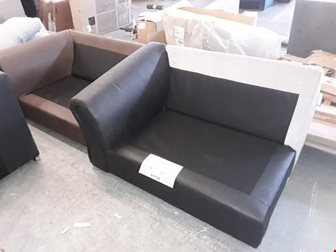 Lot 7115 LOT OF 2 DESIGNER SOFA SECTIONS