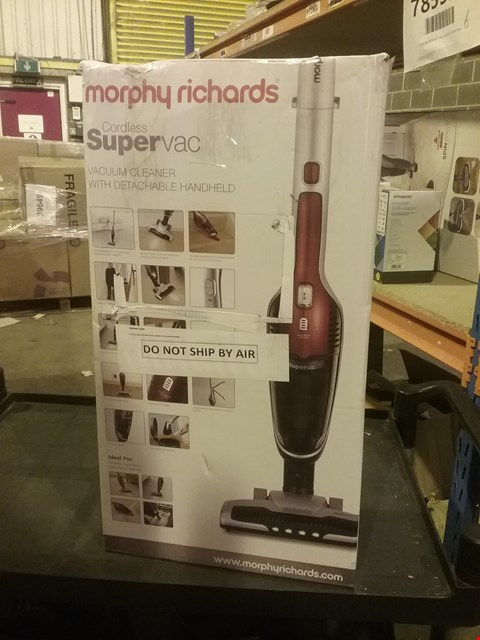 Lot 2650 MORPHY RICHARDS CORDLESS SUPER VAC