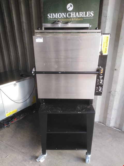 Lot 3024 BLACK ROCK 230V GRILL WITH STAND