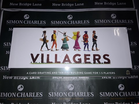 Lot 739 BOXED VILLAGERS THE CARD GAME